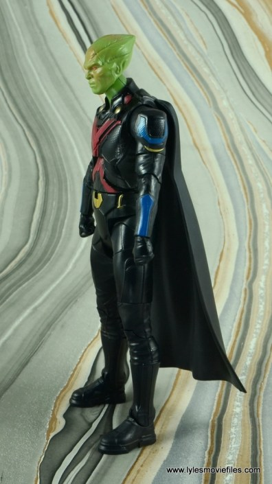 dc multiverse martian manhunter figure review - left side
