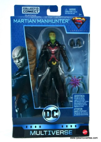 dc multiverse martian manhunter figure review - package front