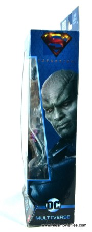 dc multiverse martian manhunter figure review - package side