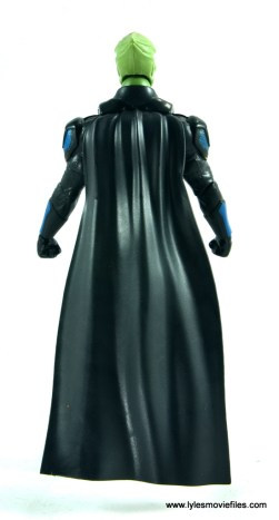dc multiverse martian manhunter figure review - rear with cape on