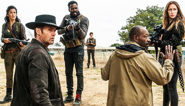 fear the walking dead just in case review - luciana, strand, john, morgan and alicia
