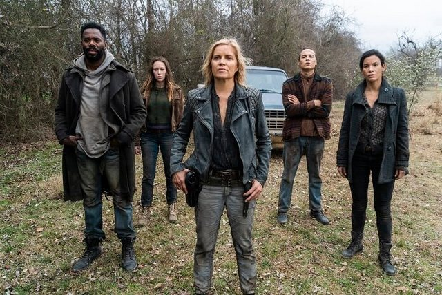 fear the walking dead no one's gone review - strand, alicia, madison, luciana and nick