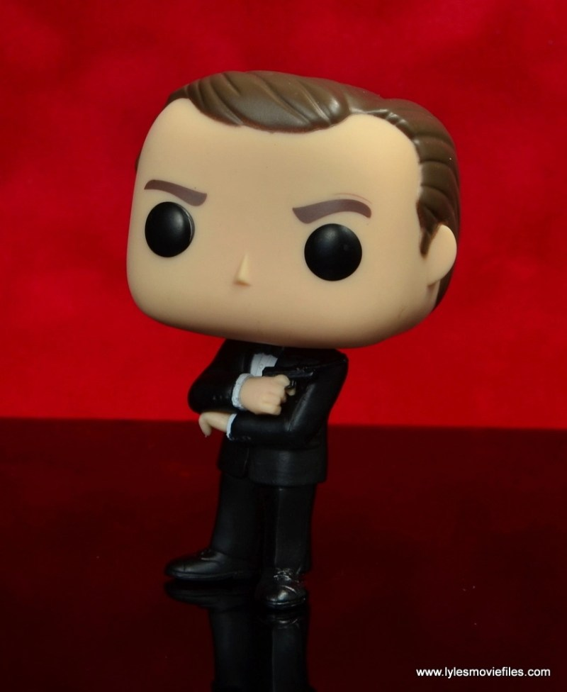 funko pop james bond figure review - left side