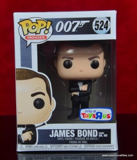 funko pop james bond figure review - package front
