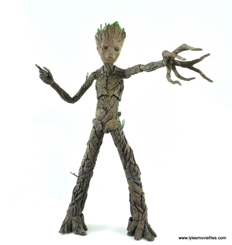 hot toys avengers infinity war groot and rocket review - attack mode groot