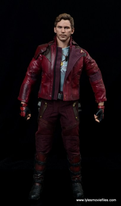 hot toys guardians of the galaxy vol. 2 star-lord figure review front