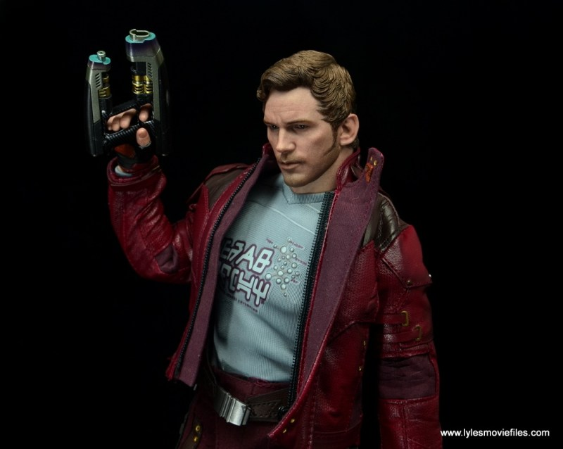 hot toys guardians of the galaxy vol. 2 star-lord figure review gun up