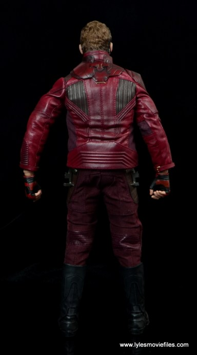 hot toys guardians of the galaxy vol. 2 star-lord figure review rear