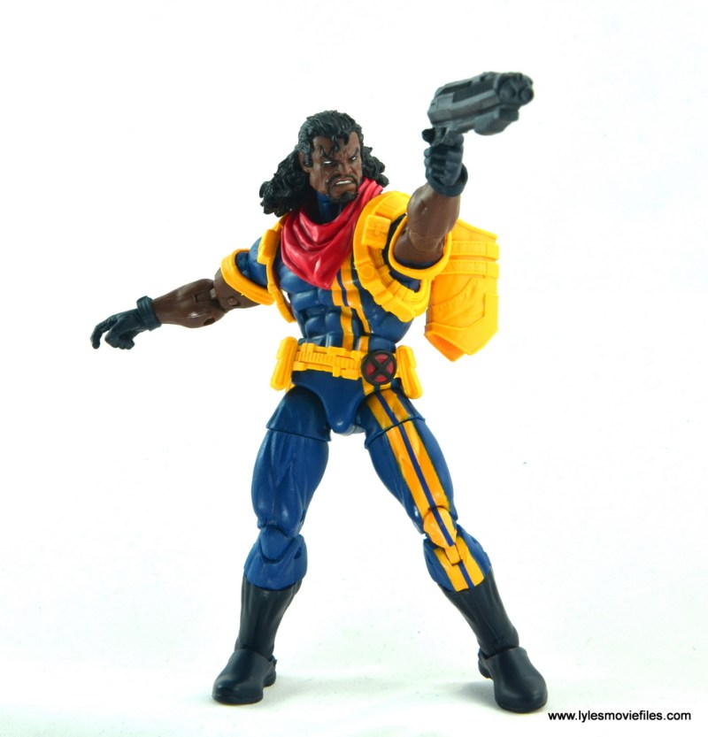 marvel legends bishop action figure review - aiming ahead
