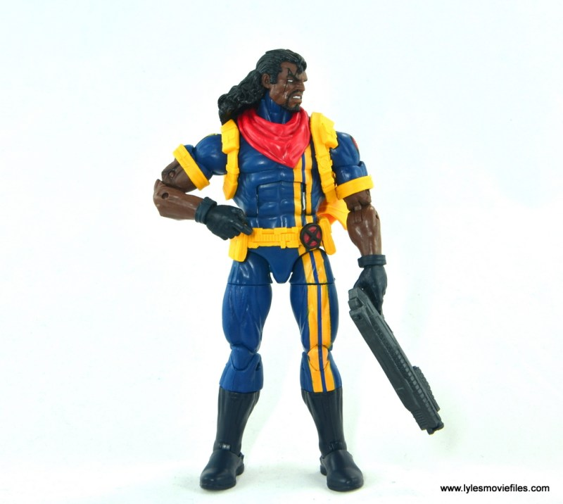 marvel legends bishop action figure review - relaxed