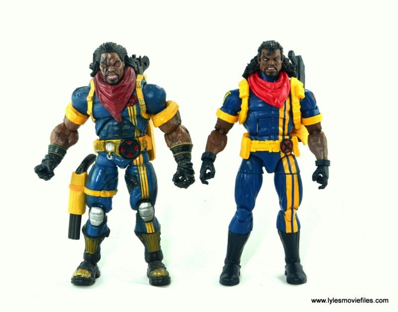 marvel legends bishop action figure review - with toy biz bishop