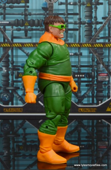 marvel legends doctor octopus figure review - right side