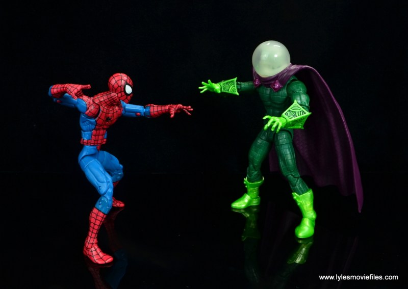 marvel legends mysterio figure review - vs spider-man