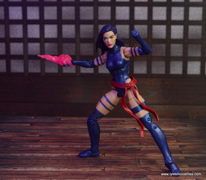 marvel legends psylocke figure review -ready for battle