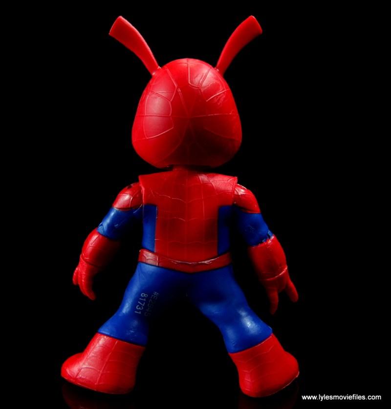 marvel legends spider-ham figure review - rear