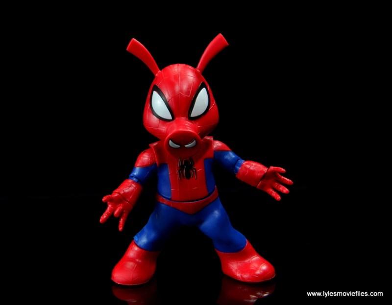 marvel legends spider-ham figure review - wide stance