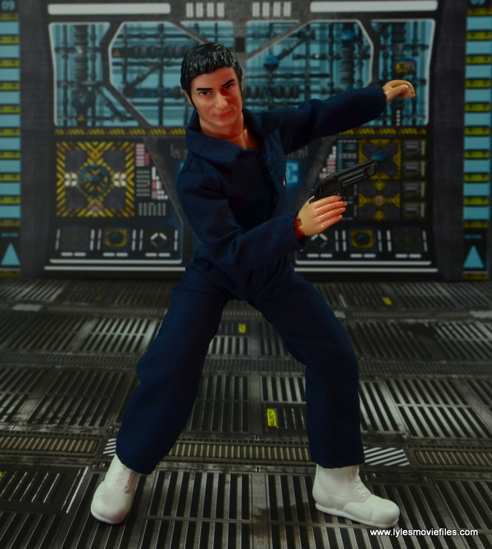 mego action jackson figure review - ready for a fight