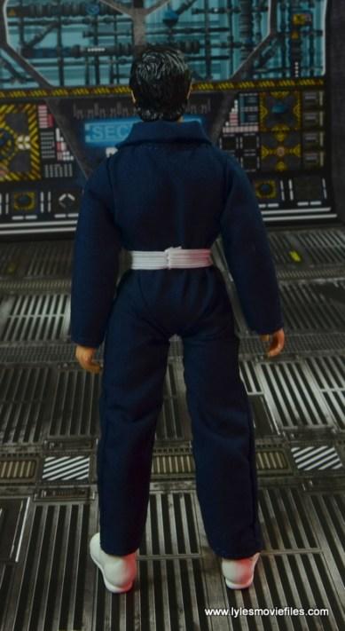 mego action jackson figure review - rear