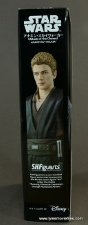 sh figuarts anakin skywalker figure review - package side portrait