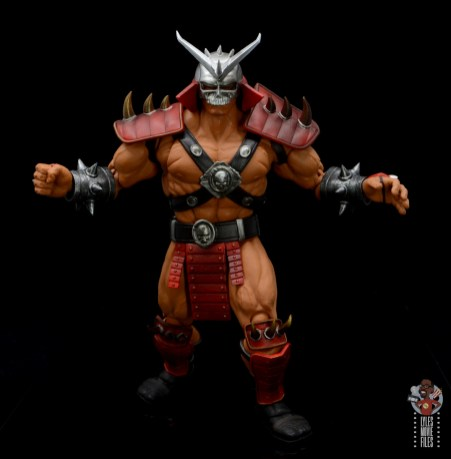 storm collectibles mortal kombat shao khan figure review - advancing