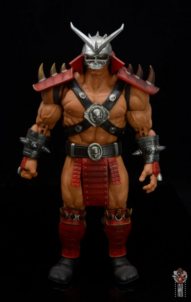 storm collectibles mortal kombat shao khan figure review - front