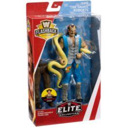 wwe flashback elite set jake the snake roberts package side