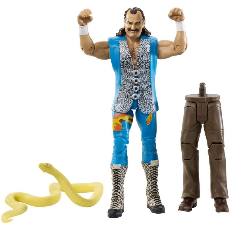 wwe flashback elite set jake the snake roberts with accesories