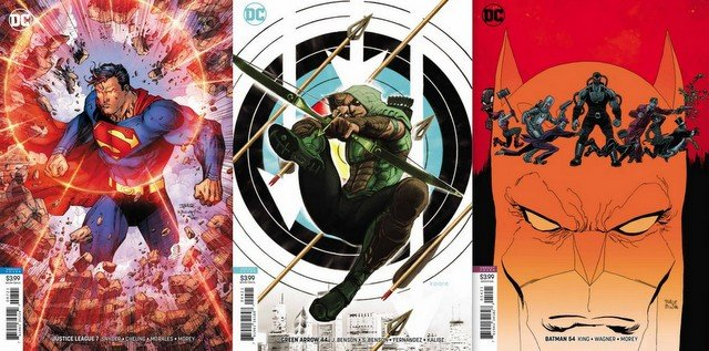 dc comics reviews for 9/5/18
