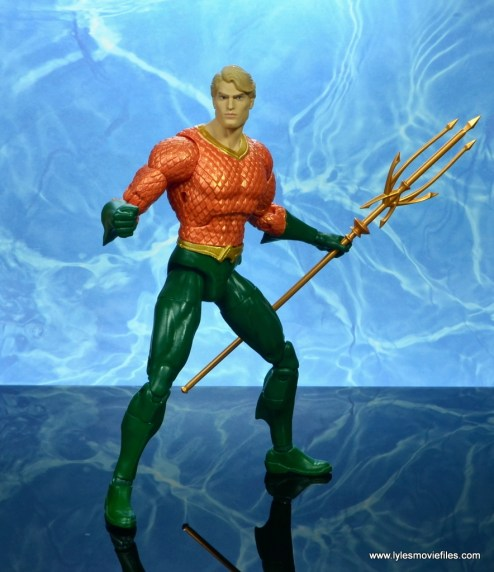 dc essentials aquaman action figure review - ready for action