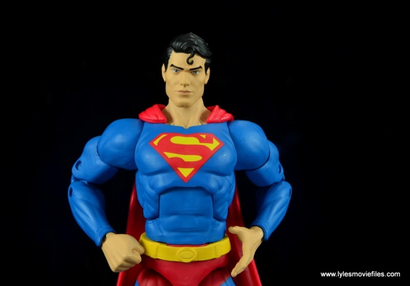 dc essentials superman review - hands on hips