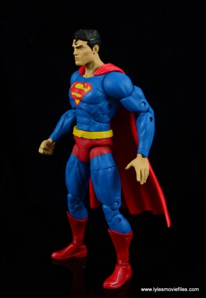 dc essentials superman review - left side