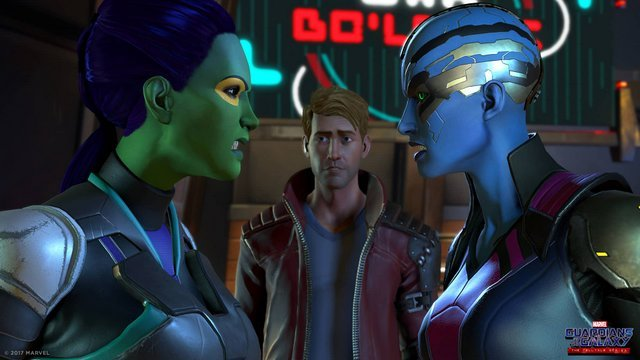 guardians-of-the-galaxy-the talltale series - gamora, peter and nebula