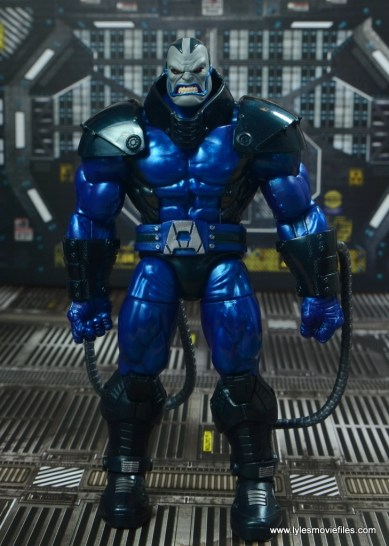 marvel legends baf apocalypse figure review -front
