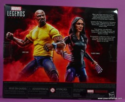 marvel legends luke cage and claire figure review -package rear