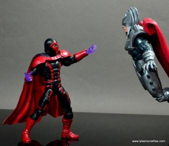 marvel legends magento review - magneto vs stryfe