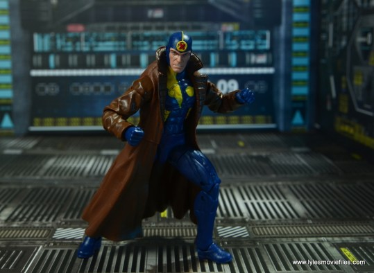 marvel legends multiple man figure review - angry action stance