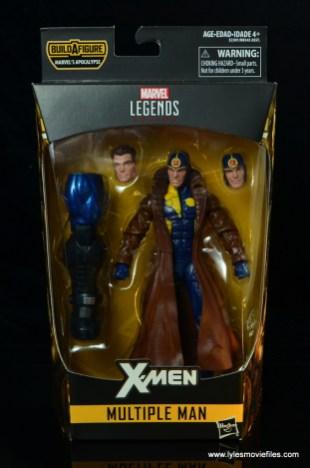 marvel legends multiple man figure review - package front