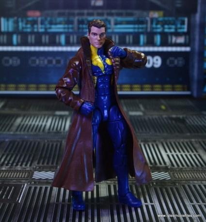 marvel legends multiple man figure review - unmasked action pose
