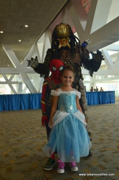 Baltimore Comic Con 2018 cosplay -Predator, Spider-Man and Cinderella