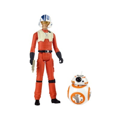 STAR WARS RESISTANCE 3.75-INCH POE DAMERON & BB-8 Figure 2-Pack (2)