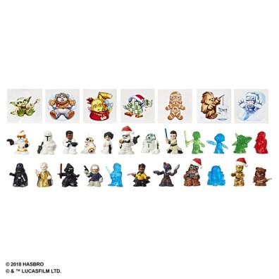 Star Wars Micro Force Advent Calendar - oop