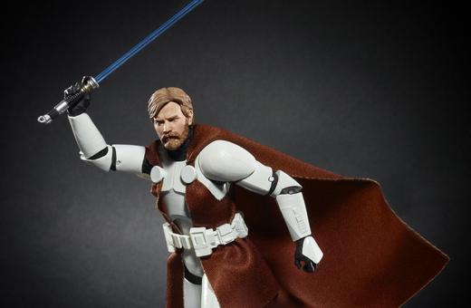 nycc 18 Star Wars The Black Series 6-inch Obi-Wan Kenobi (Clone Trooper Armor) Figure 2 Walgreens Exclusive