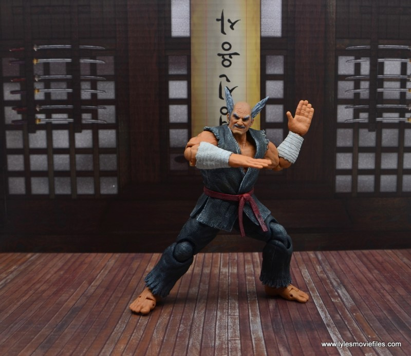 Storm Collectibles Heihachi Mishima figure review -battle stance