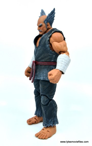Storm Collectibles Heihachi Mishima figure review -left side