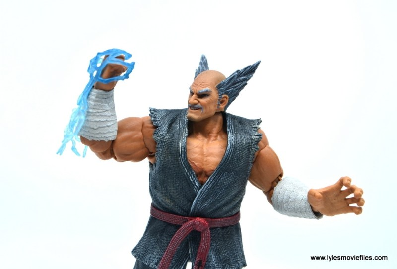 Storm Collectibles Heihachi Mishima figure review -lightning effect