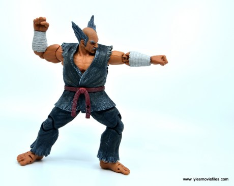 Storm Collectibles Heihachi Mishima figure review -power punch