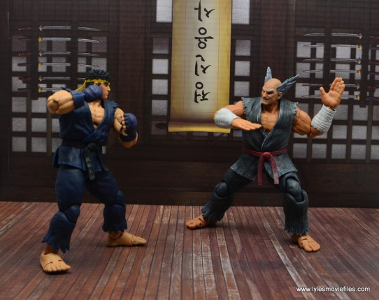 Storm Collectibles Heihachi Mishima figure review -ready to fight ryu