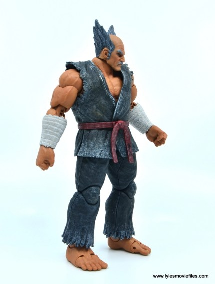 Storm Collectibles Heihachi Mishima figure review -right side