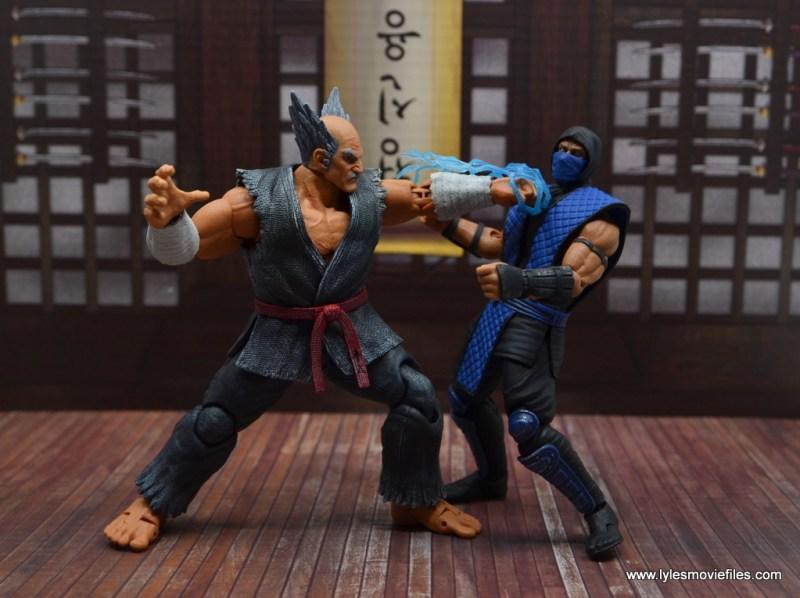 Storm Collectibles Heihachi Mishima figure review -striking sub-zero