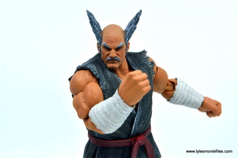 Storm Collectibles Heihachi Mishima figure review -taunting